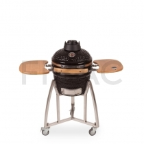 Patton Premium Kamado grill Bluetoothiga 16'' (läikiv must)