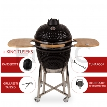 Patton Premium Kamado grill Bluetoothiga 21'' - LED käepide + KINGITUS