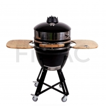 Patton Premium Kamado grill Bluetoothiga 21'' - Meat & Pizza Edition - LED käepide